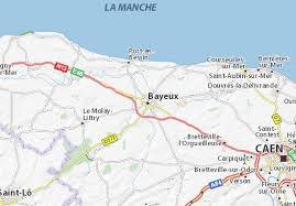 Situation géographique de Bayeux