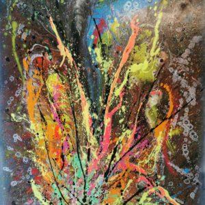 Abstrait Fluo par Cyrille DUMONT