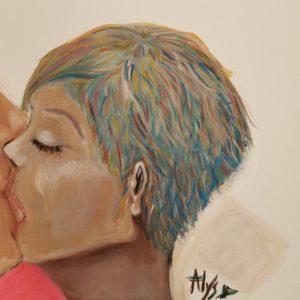 Un baiser.